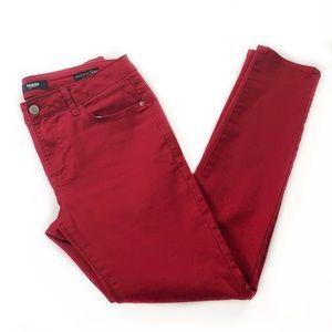 Kensie • Red Knockout Skinny Jeans